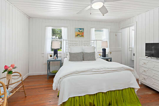 Bright Bedroom in our Beachfront Rental in St. Simons Island, GA