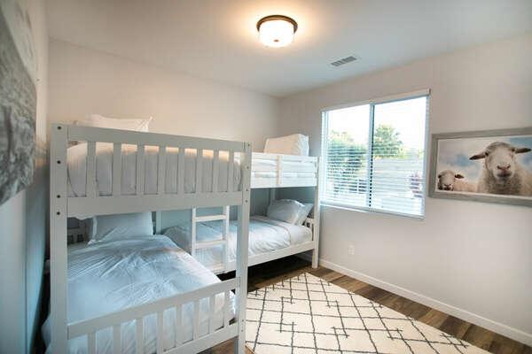 Bunk Room, Quadruple Twin Bunk Bed - Second Floor