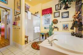 Billiards room bathroom