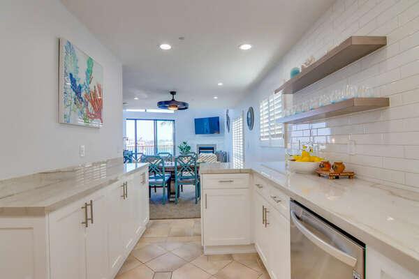 All New Kitchen - Third Floor