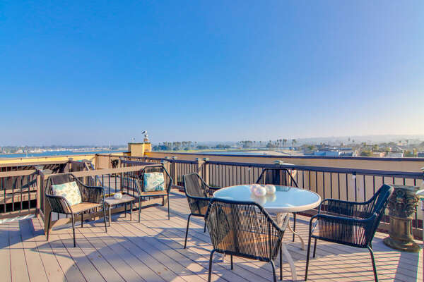 Outdoor Dining with Panoramic Views