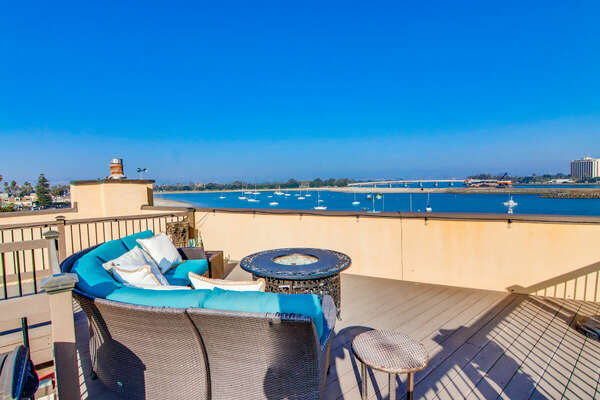 Roof Deck with Panoramic Views