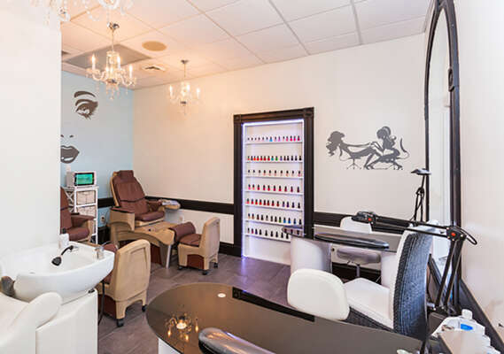 On-site facilities:- Day Spa nail salon