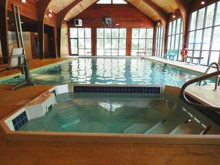 Sapphire Valley Amenities: Indoor Heated Salt Water Pool & Hot Tub