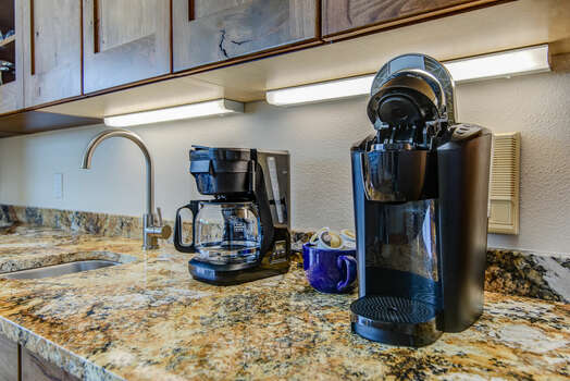 Drip and Keurig Coffee Makers