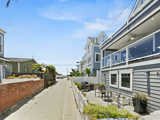 Exterior - Just Steps to the Beach!