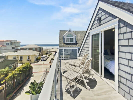 Third Floor Balcony with Ocean Views