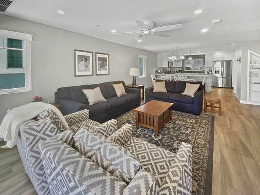 Living Room - Second Floor