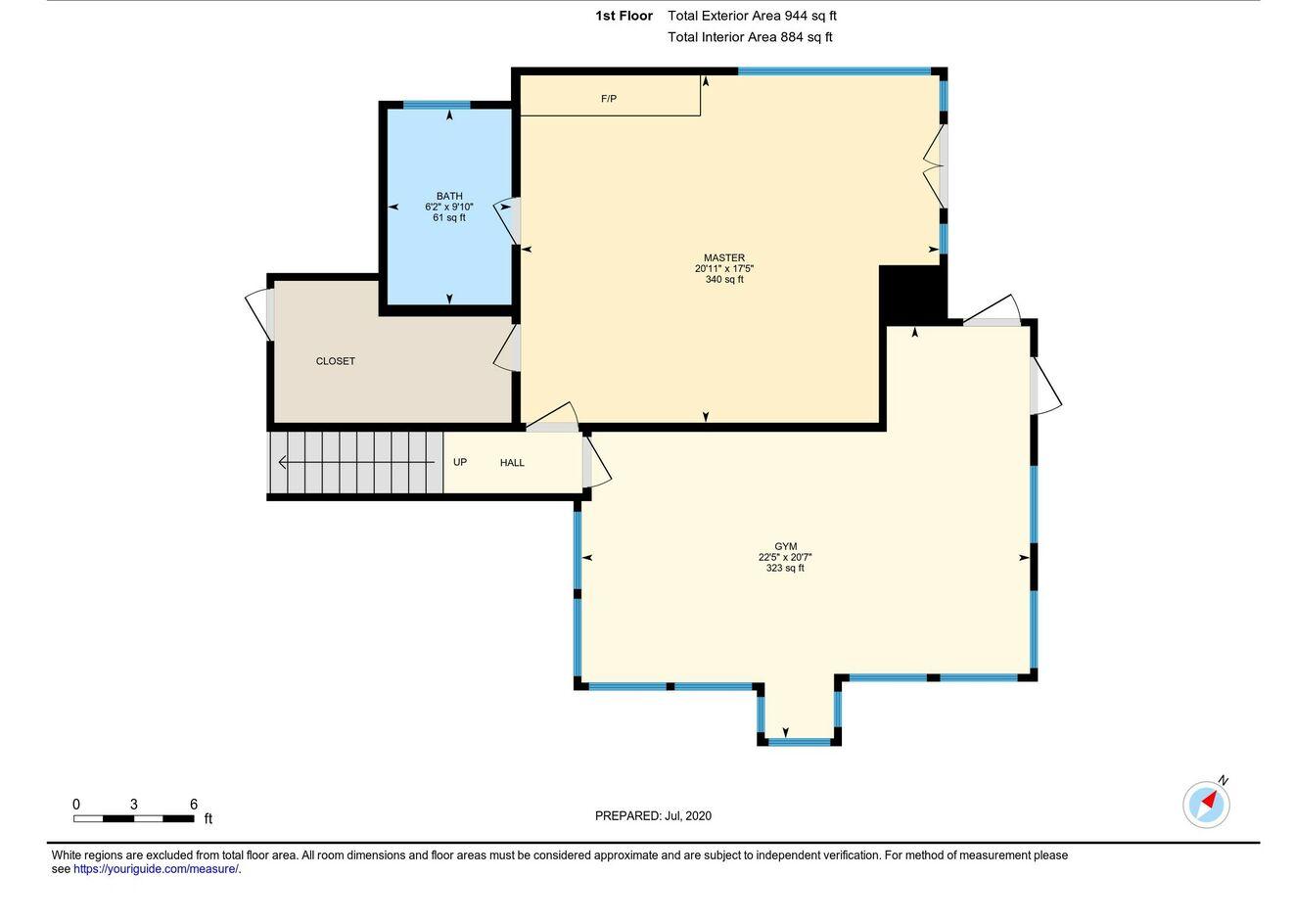 Floor Plan Upstairs Loft