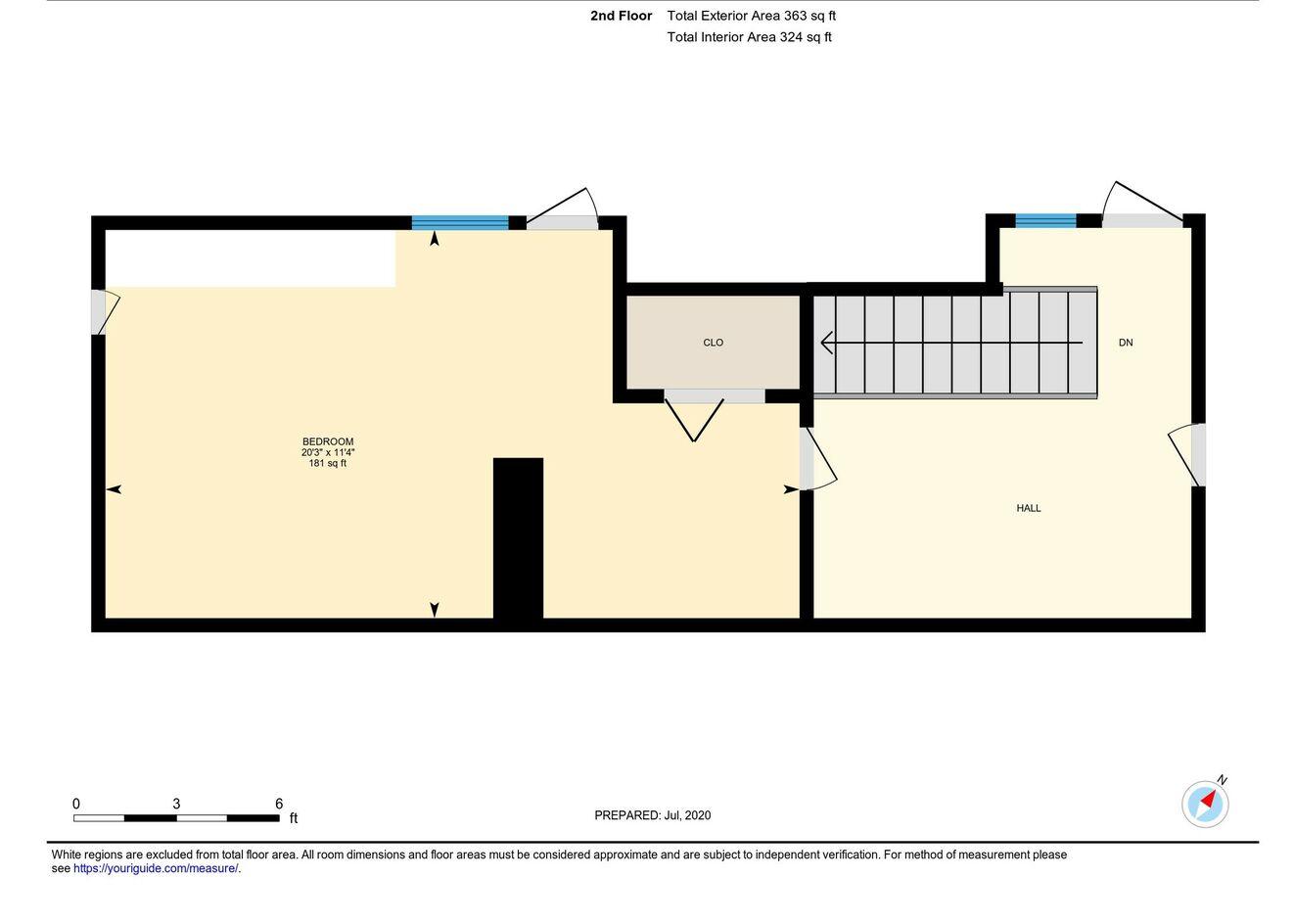 Floor plan Lower Level