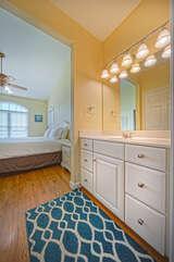 Master En Suite bathroom with vanity sink.