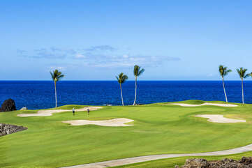 Picture of the Golf Course with Ocean Views