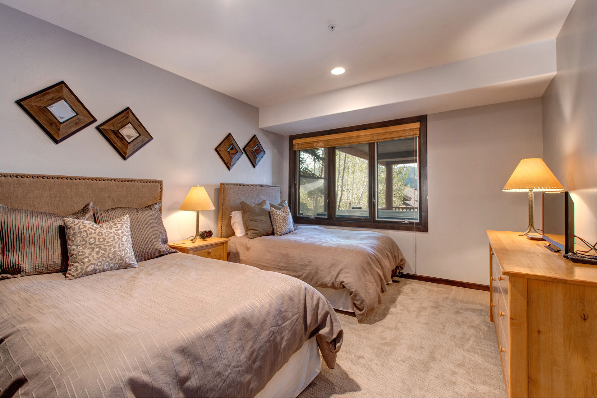Lower Level Bedroom 3 with Two Full-size Beds, 19