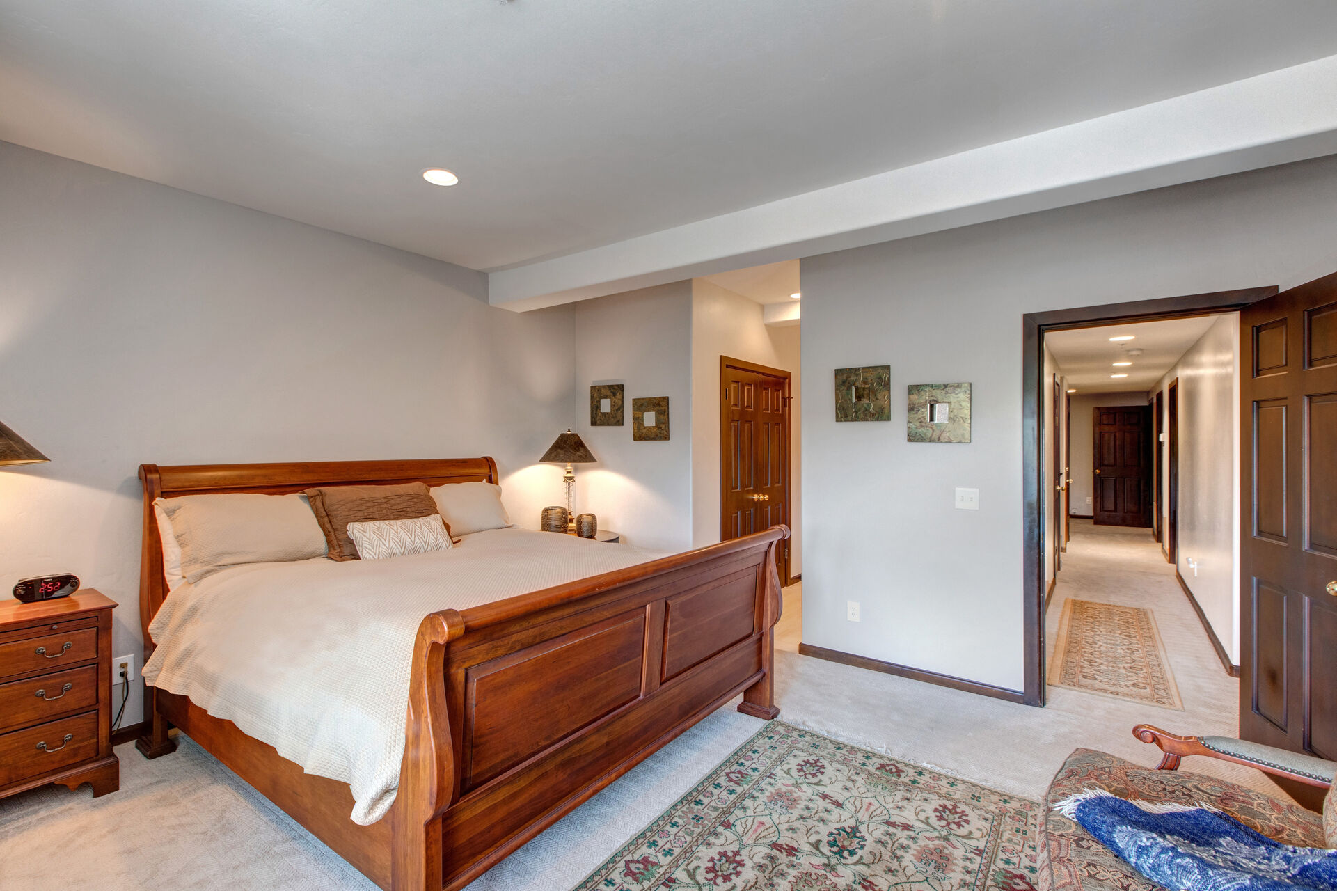 Lower Level Master Bedroom 2 with King Bed, 40