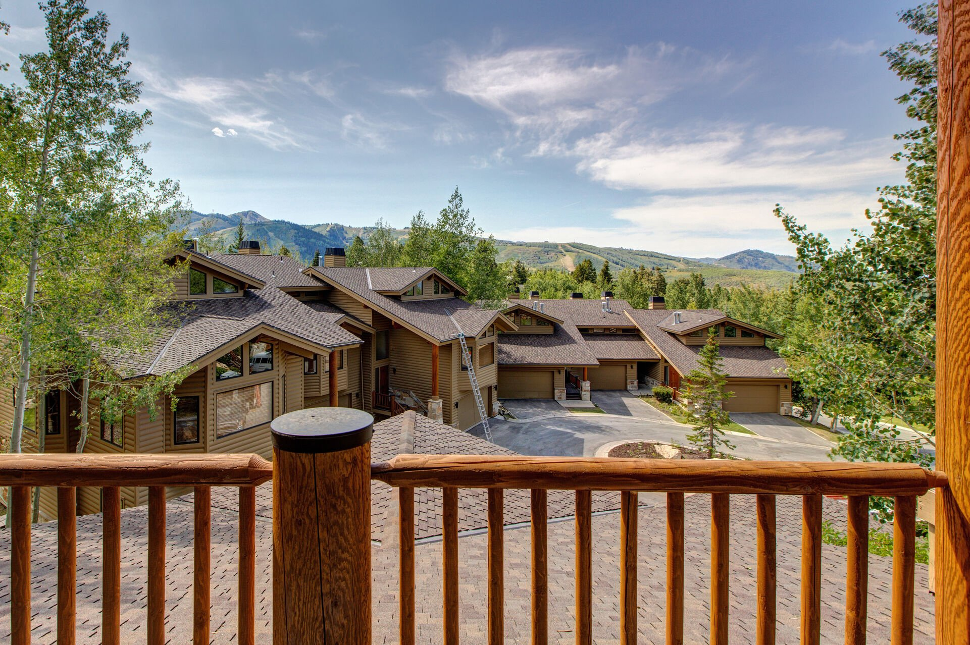 Main Level Deck with Deer Valley Views