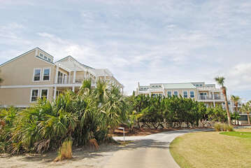 Welcome to Atrium Villas just across the street from the beach club