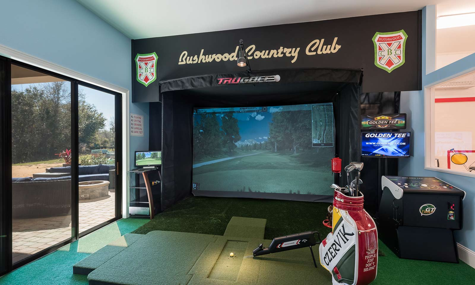 [amenities:Golf-Simulator:1] Golf Simulator