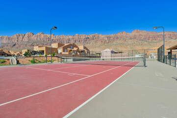 Shared recreation area.