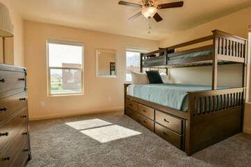 Bedroom 2- bunk bed