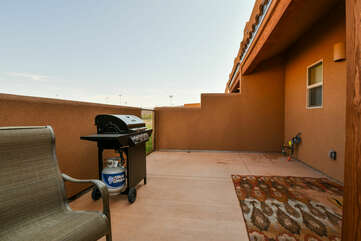Private Patio and grill