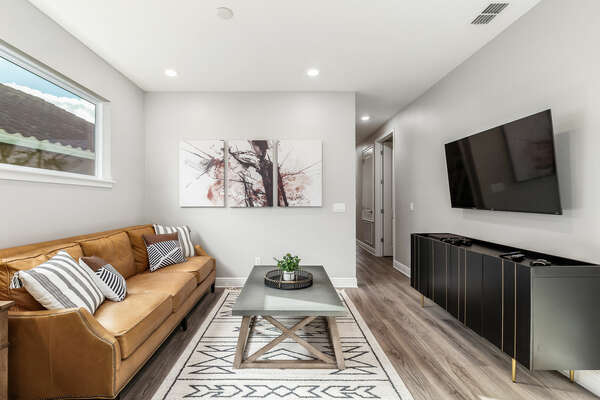 Entertain further in the upstairs loft