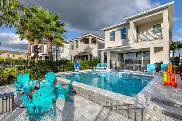 Have quality family time in your private oasis