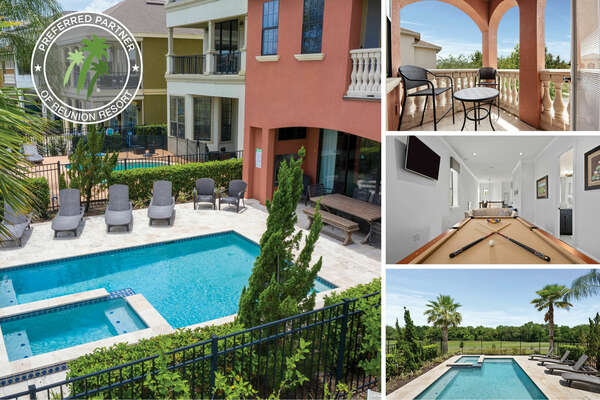 Welcome to  Fairway Sunset, a 5 bedroom private pool home | PHOTOS TAKEN: June 2020