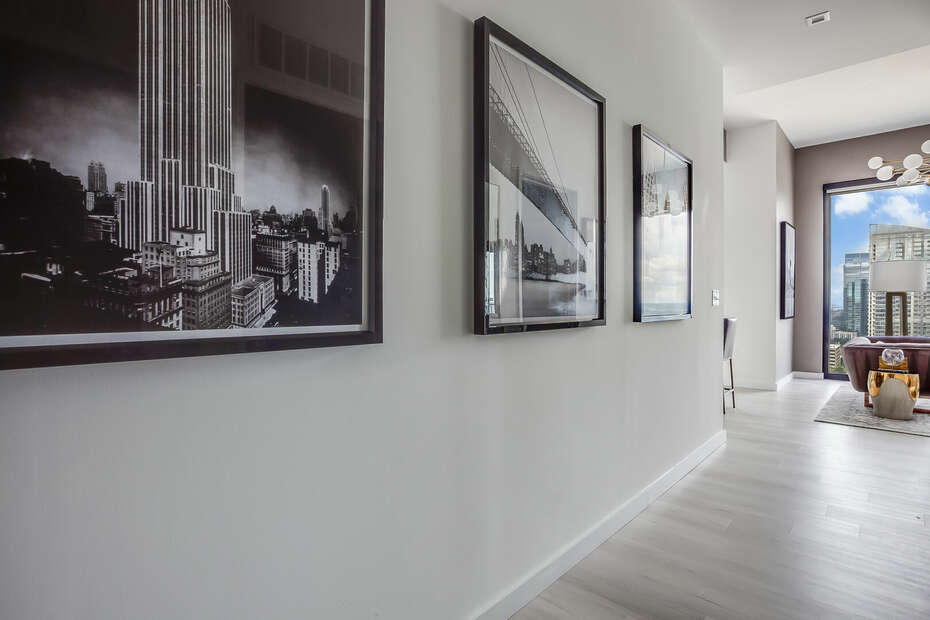 Entryway with Photos