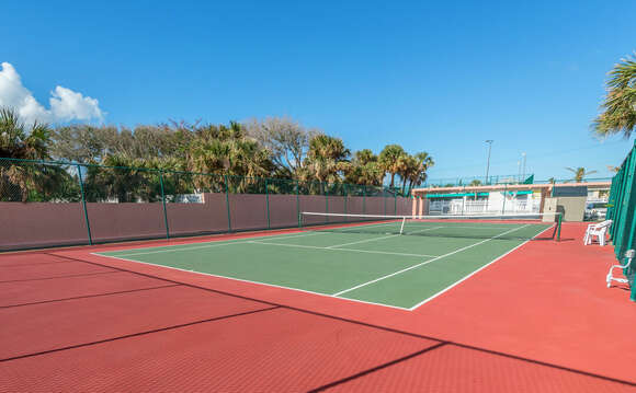 and Tennis courts!