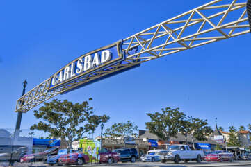 Welcome to Carlsbad downtown.