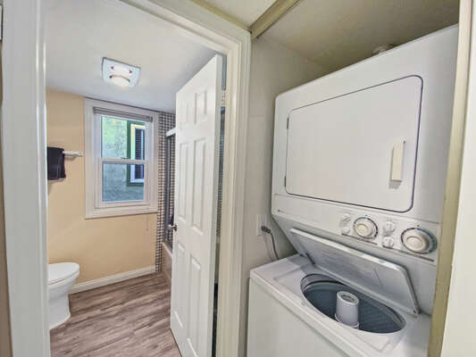 Full Guest Bath with Washer/Dryer - Second Floor