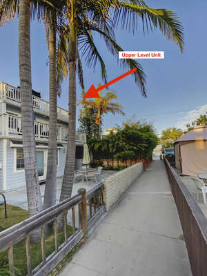 Upper Level Duplex Home - Just Steps to the Bay!