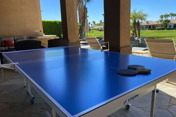 Need some action? Challenge a friend to a friendly game of Ping Pong!