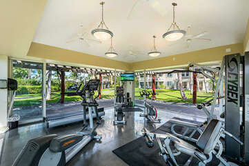 Fitness Facility with Multiple Machines