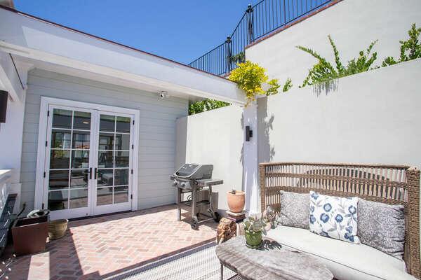 Second Floor Patio with BBQ, Outdoor Furniture & Ocean Views
