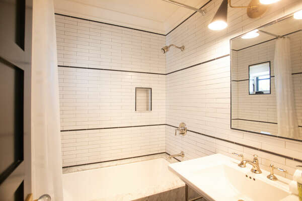 First Floor Full Bath with Tub/Shower Combo