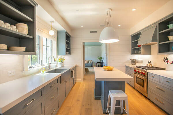 State of the Art Kitchen in our La Jolla Rental