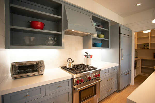 Fully Stocked Kitchen is Ready for You to Create Meals