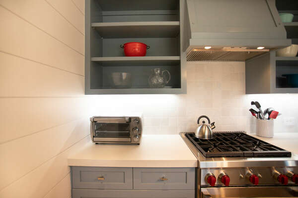 High End Appliances in the First Floor Kitchen