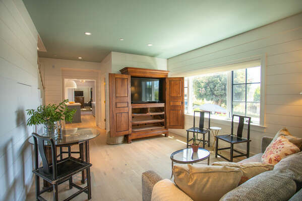 Relax and Watch TV in This Comfortable Living Space
