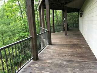 Lower Deck off the Bonus Room