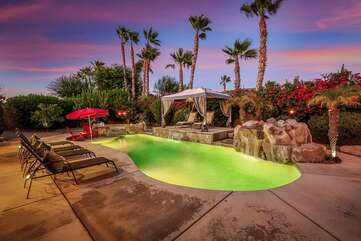Vacay Stay invites you to unwind and relax in this large backyard with so much room to entertain.
