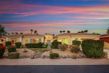 Bellagio is located in a perfectly landscaped community where you can enjoy a nice evening walk.