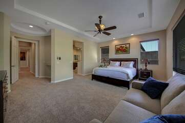 The large Master Suite is sure to impress.