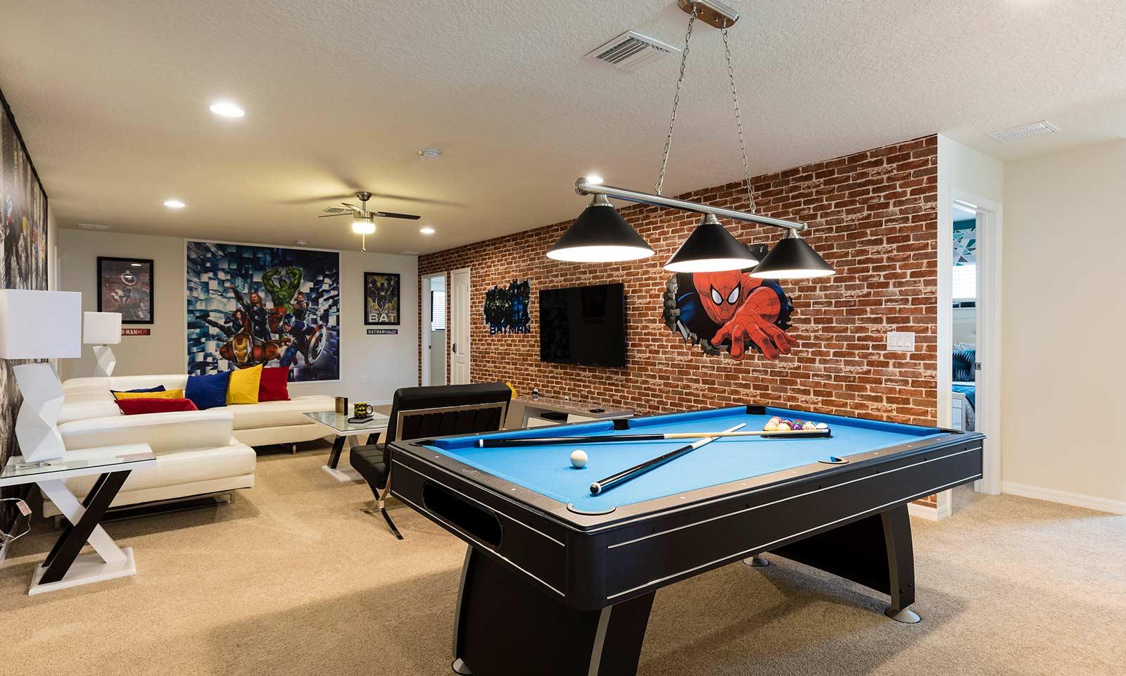 [amenities:entertainment-loft:3] Entertainment Loft
