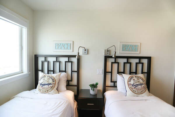 Twin Bedroom - First Floor