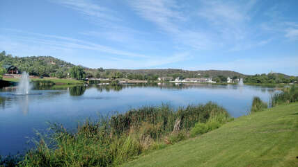 Scenic Green Valley Park in Payson is a 15 minute drive from our guesthouse.
