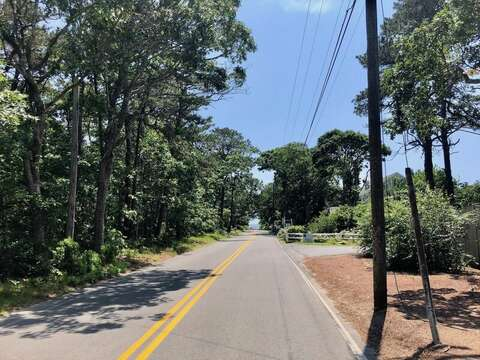 View from Middleton Drive to Earle Road Beach-16 Middleton Drive West Harwich Cape Cod -New England Vacation Rentals