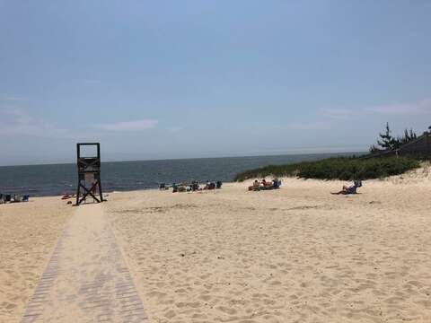 Enjoy the warm sand and salty waters at Earle Road Beach West Harwich- New England Vacation Rentals- Cape Cod