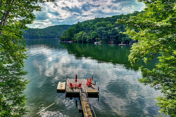 Private Dock on Lake Glenville